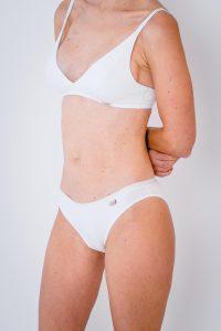 Kalhotky BASE slip bílé